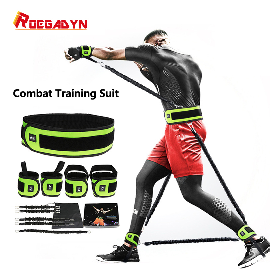 Leg Squat Puller Boxing Fighting Training Rope Bouncing Rope Basketball Volleyball Resistance Rope