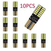 24smd led t10 w5w 4014 canbus t10 w5w led car luzes 194 168 Luzes Da Placa de Licença