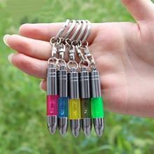 Porte-clés créatif, léger, Portable, antistatique, pour voiture, corps humain, dégagement rapide, couleur aléatoire, 1 pièce