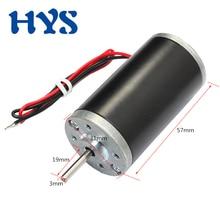 HYS Mini Motor DC 6V 12V 24V High Speed 2000/3500/4000/ 8000rpm Electric Motor CW/CCW DC 12 Volt Micro Motors DIY