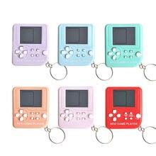 Электронная мини машина tetris для детей Классическая игра развивающая