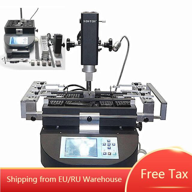 Honton bga rework machine HT R490 Rework soldering Station with independent temperature control and solder tools
