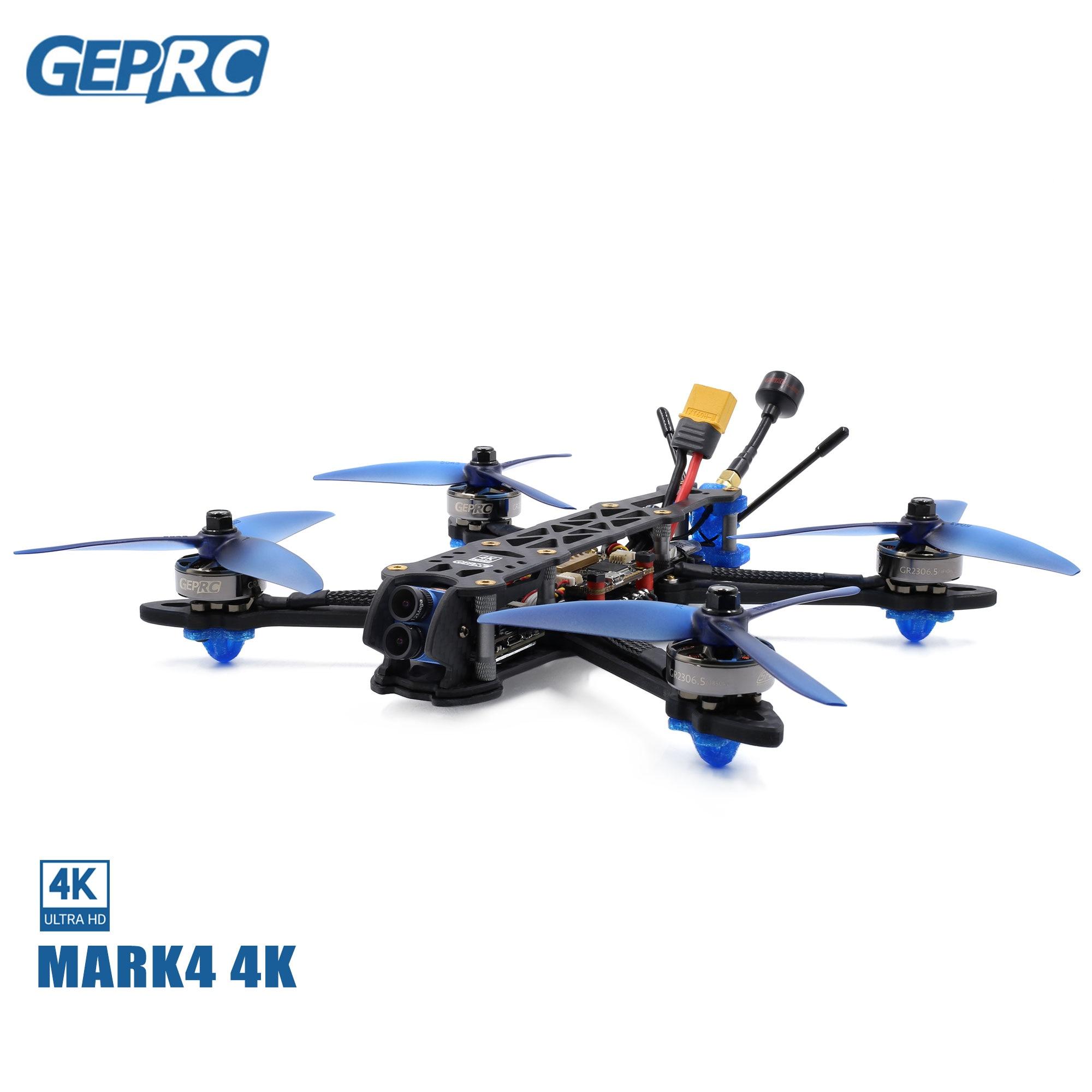 GEPRC MARK4 4K Tarsier V2 4-6S FPV Drone BNF GR2306.5 224mm FPV Freestyle Frame With SPAN-F722-VTX For FPV RC Drone