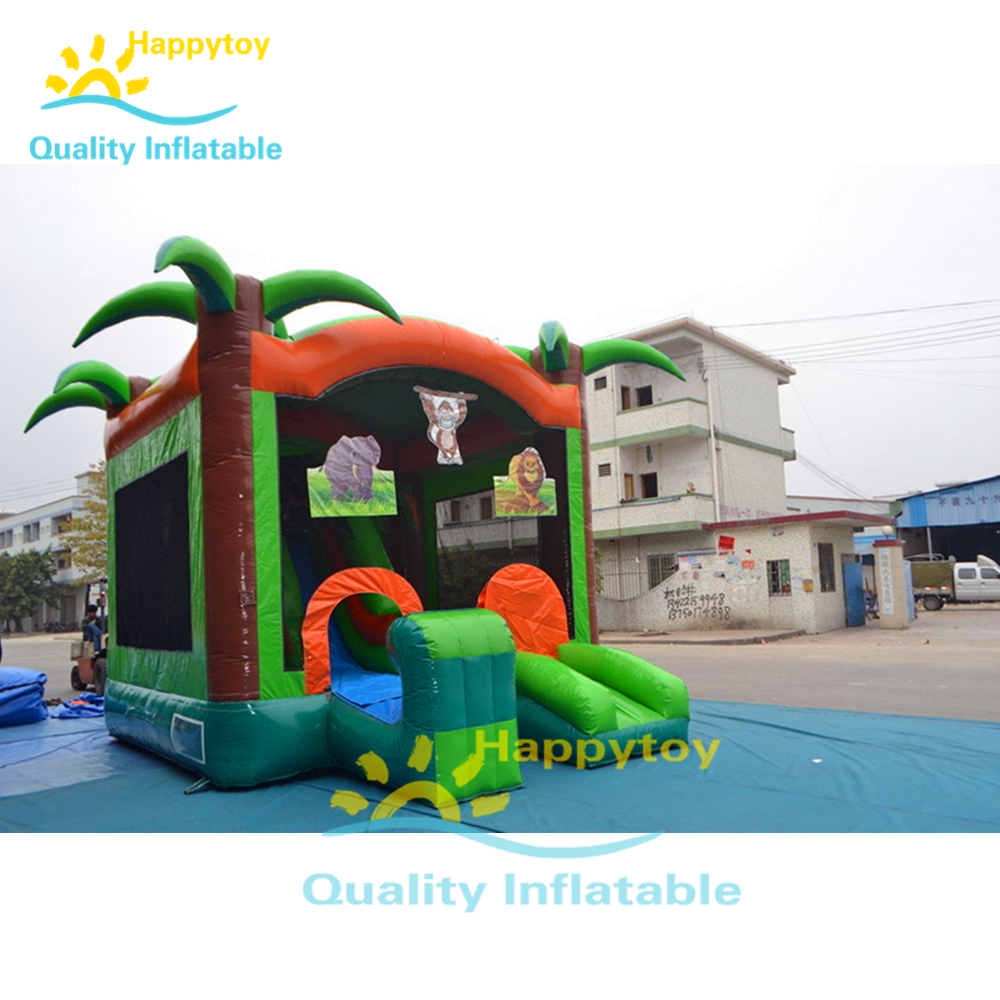 Custom Outdoor Cheap Good Quality Inflatable Toys Colorful Inflatable Jumping Castle