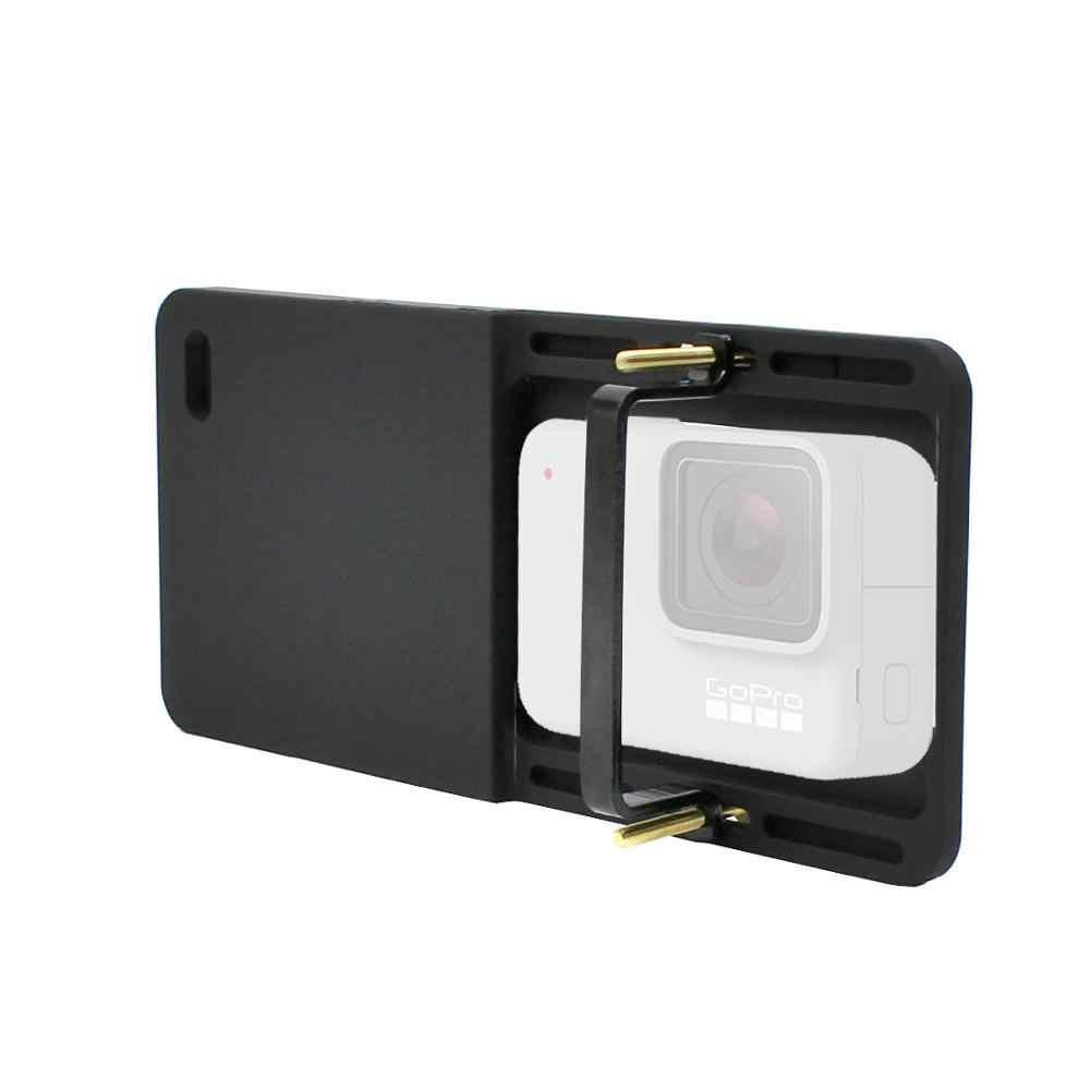 يده Gimbal محول التبديل جبل لوحة ل GoPro 6 5 4 3 3 + يي 4k كاميرا ل DJI Osmo ل فييو Zhiyun السلس Q Gimbal