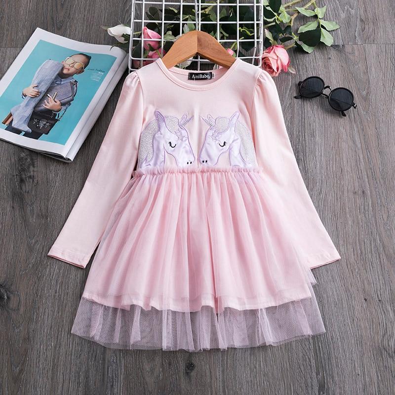 H97affe6d2626432db8ca5e4cb3b04365Q 2019 Autumn Winter Girl Dress Long Sleeve Polka Dot Girls Dresses Bow Princess Teenage Casual Dress Daily Kids Dresses For Girls