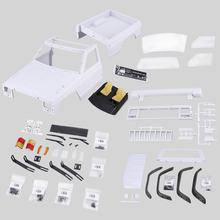 2019 AX-313B 12.3 pouce/313mm empattement pick-up carrosserie kit de bricolage pour 1/10 RC camion chenille axiale SCX10 & SCX10 II 90046 90047(China)