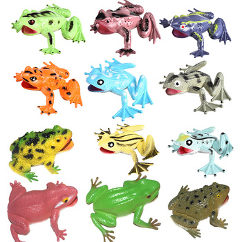 New simulation frog model vocal bullfrog toad cockroach vent childrens educational toys