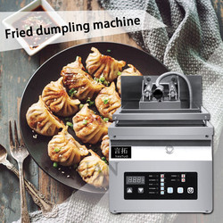 220V stainless steel Single head Fried bag Fried dumpling machine Commercial Fully automatic Electric fried dumpling machine