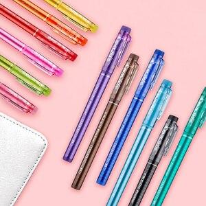 Image 2 - PILOT erasable watercolor pen set SFFL 12F temperature control ink art painting graffiti DIY hook line pen