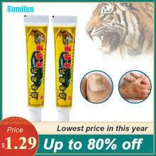 Sumifun 1 шт 20g тигр бальзам экзема крем от псориаза антибактериальные