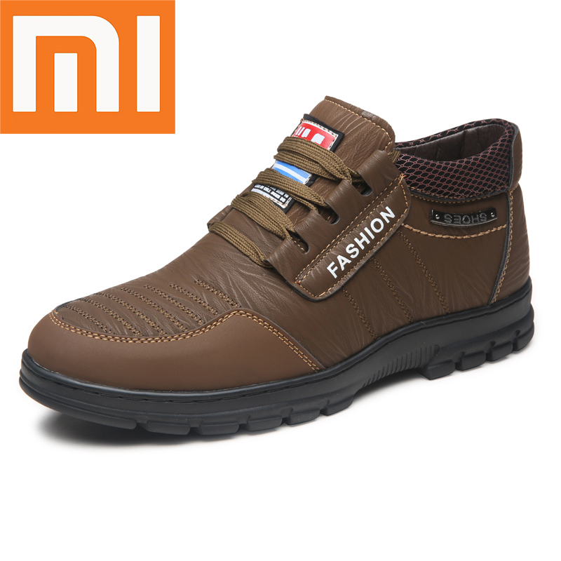 Xiaomi Breathable Casual Shoes Keep Warm Antiskid And Abrasion Resistant Man Sneakers Comfortable Outdoor Walking Running Shoes