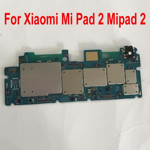 Original Used Test Unlock Mainboard For Xiaomi Mi Pad 2 Mipad 2 Motherboard Circuits Card Fee Flex Cable Accessory Set