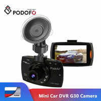 Podofo Mini Auto DVR G30 Volle HD 1080P Kamera Mit Motion Detection Night Vision G-Sensor Dashcam Kanzler dash Cams DVRs