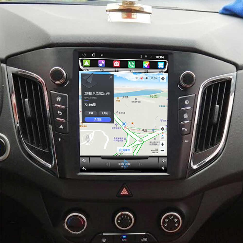 Carro multimídia player estéreo gps dvd rádio navegação navi tela android para hyundai creta ix25 2014 2015 2016 2017 2018 2019