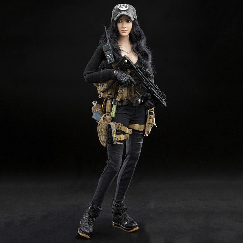 1/6 Vestito Delle Donne Soldato Sorella Killer DCG003 Nana E DCG004 Lucy per 12