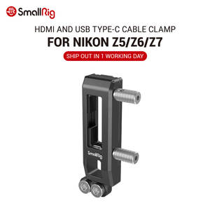 SmallRig HDMI and USB Type-C Cable Clamp for Nikon Z5/Z6/Z7 Camera 2927