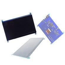 Para raspberry pi 7 Polegada 1024*600 tela de toque capacitivo interface lcd suporte vários sistemas