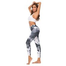 CINESSD Digital Print High Waist Yoga Pants Floral Designs Pattern Gym Workout Push Up Leggings Sport Women Fitness train