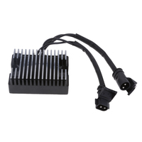 Motorcycle Voltage Regulator Rectifier For Harley 883 1200 74546 07A Black|Motorcycle Electronics Accessories| |  -