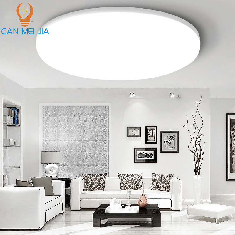 Modern Led Ceiling Lights 220V 15W 30W 20W 50W Surface Mount Round Ceiling Lamp Light Lighting Fixture For Living Room Kitchen