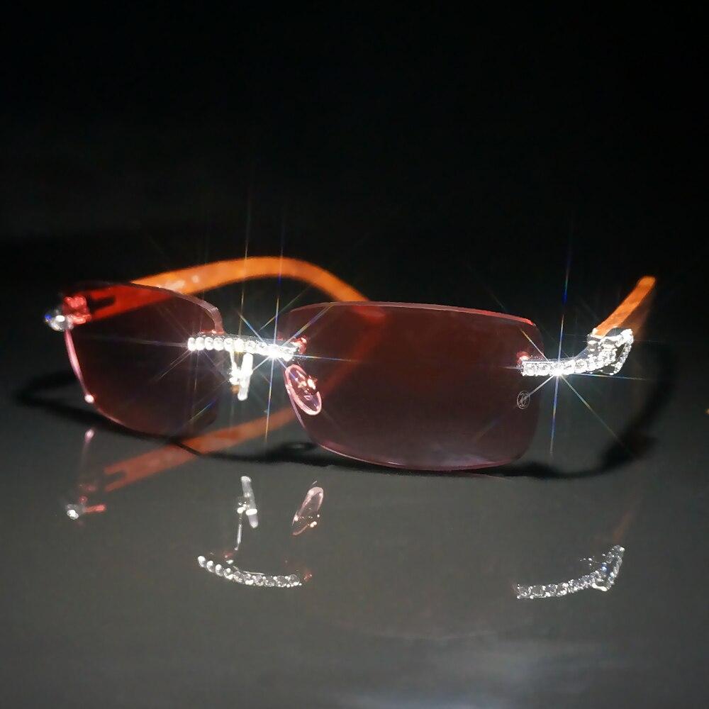 Diamond Sunglasses Men Carter Glasses Frame Sun Glasses For Women Stones Sunglasses For Decoration Fashion Eyewear For Club