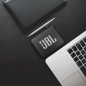 Image 5 - JBL GO2 Беспроводная Bluetooth Колонка IPX7, водонепроницаемая внешняя колонка с возможностью подключения к порту s, перезаряжаемая батарея с микрофоном, порт 3,5 мм, порт S, Go 2