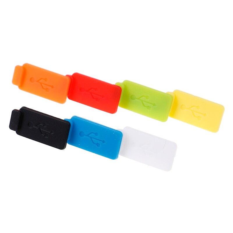 Пылезащитный предупреждения для ПК Тетрадь 5 шт. Стандартный Пылезащитная заглушка для USB Порты и разъёмы Зарядное устройство чехол Jack Инте...