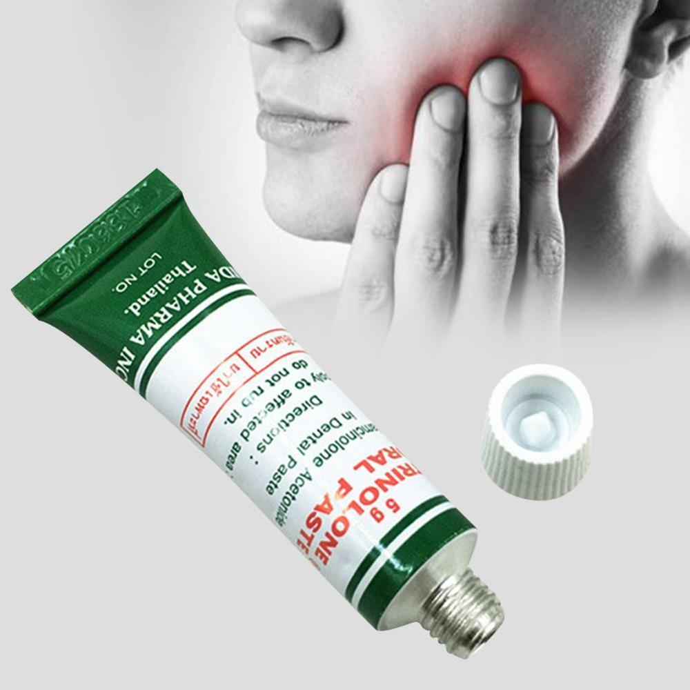1*Mouth Relief Ulcer Oral Antibacterial Gel Herbal Natural Cream Rapid Pain Relief