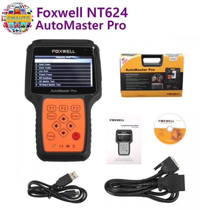 Foxwell NT624 AutoMaster Pro все делает все системный Сканнер