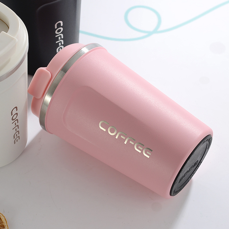 510ml Stainless Steel Coffee Mug Portable Car Bottle Travel Thermos Tumbler Thermos Home Decor Camping Kitchen Accessories