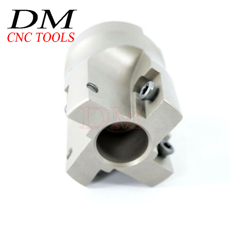 1PCS BAP400R-40-16-4T/BAP400R-40-16-3F  Insert Indexable Face Milling Cutter End Mill Can UseAPMT1604/APKT1604