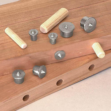 1/8Pcs 6 -12mm Dowel Tenon Multi Dowel Center Point Set Tool Joint Alignment Pin Dowelling Hole Wood Timber Marker Align
