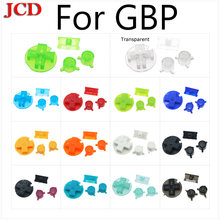 Jcd новый цветной Сменный Набор кнопок для gameboy карман кнопки