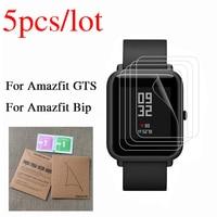 Protector de pantalla para Xiaomi Huami Amazfit Bip GTS 2 mini GTR 2, película transparente para reloj inteligente Amazfit Bip, no cristal