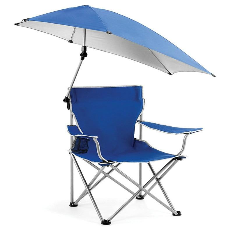 Outdoor Leisure Folding Chairs Portable Fishing Chair Beach Sunshade Chair Sketch Chair Camping Self-driving Fishing Chair