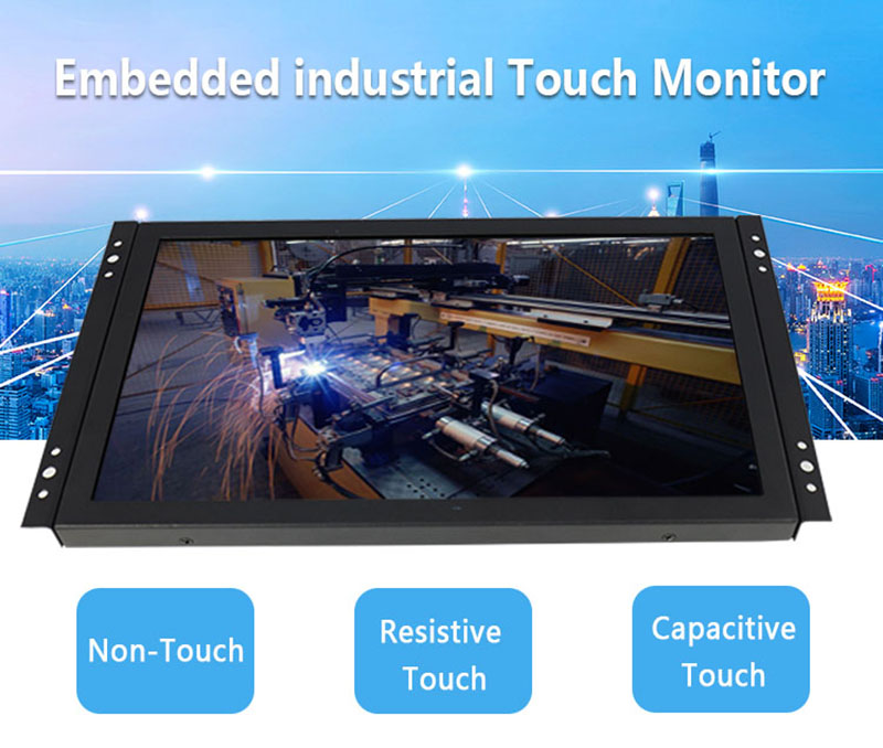 17 inch monitor with video input for minibus roof mounted