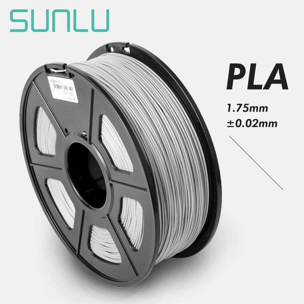 SUNLU 1.75mm Filament PLA For 3D Printer Kids And Adults Printing Material Accuracy+/ 0.02mm Sublimation Filament|3D Printing Materials|Computer & Office - title=