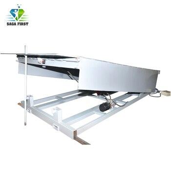 10 Ton Heavy Duty Mobile Loading Dock Steel Forklift Ramp