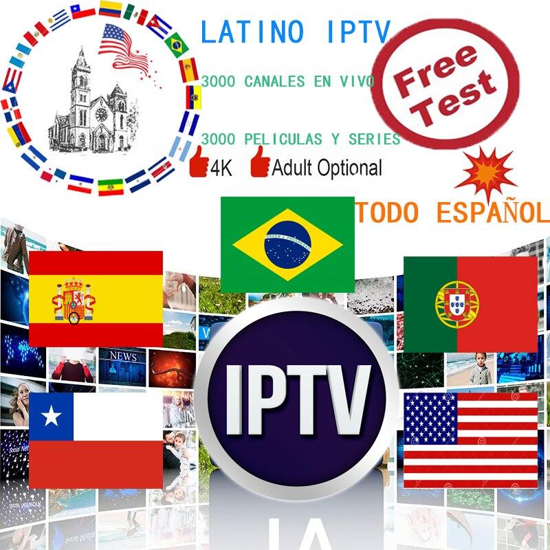 South America IPTV Spain Latino IPTV Subscription Portugal Chile USA Chile Peru Argentina  IPTV Ecuador Uruguay For Android TV