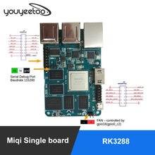 Miqi placa única, rk3288 arm quad-core a17 desenvolvimento/placa de demonstração 1.8ghzx4, open source ubuntu, android hdmi 2gb ddr 16gemmc