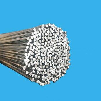 Varillas de soldadura de aluminio de baja temperatura, resistentes a la corrosión, duraderas, prácticas, fáciles de doblar, 20 piezas