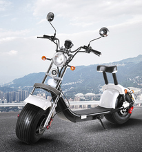 Fat Wheels Electric EEC/COC Road Legal Citycoco APP GPS System Riding Vehicle 60V 20AH 1500W Scooter in Europe