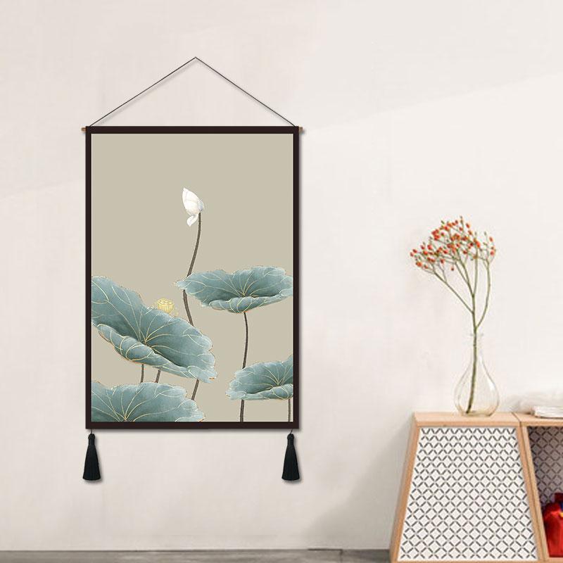 moderna sala de estar parede tapeçaria casa bandeira pendurado pano