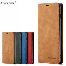 For Samsung Galaxy S10 Plus Case Magnetic Phone Cover Wallet Flip Leather Stand