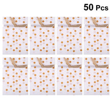 50pcs Food Drawstring Bags Decorative Dot Pattern Storage Pouch Bundle Pocket Drawstring Bag for Party Gathering Festival(China)