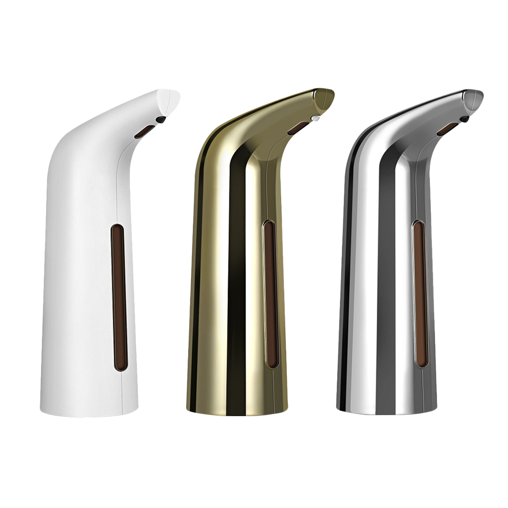 H97b4cb7e48e04b288e3636f3f505c9c8L 400ml Useful Smart Sensor Touchless Electroplated Sanitizer Dispensador Automatic Liquid Soap Dispenser for Kitchen Bathroom
