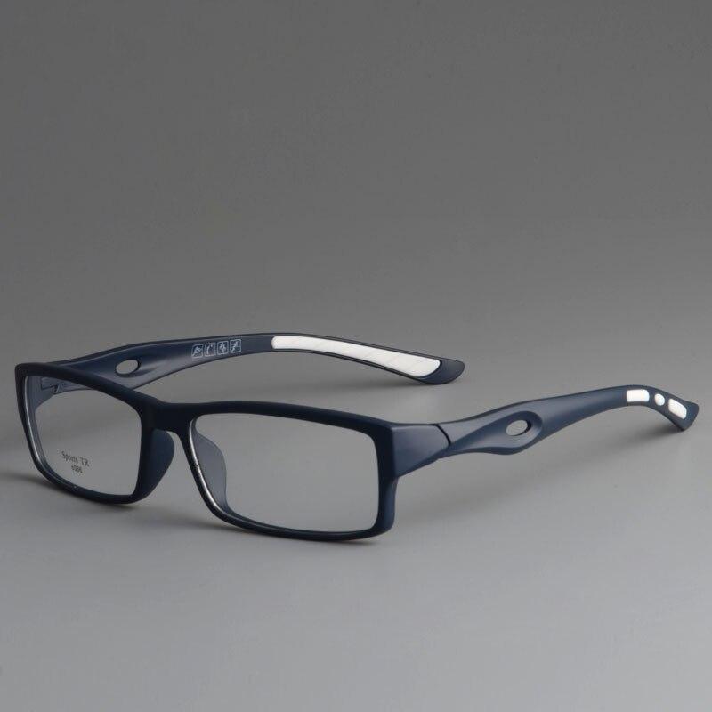 CUBOJUE Sports Glasses Frame Men TR90 Eyeglasses Man Ultra-light Prescription Spectacles For Male Style Optic Eyewear