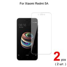 Protector de pantalla de vidrio templado para Xiaomi Redmi 5A Premium 2.5D, 0,26mm