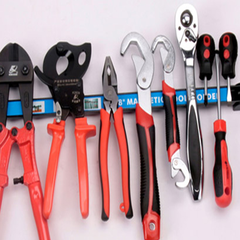 "24"" Magnetic Tool Holder Rack Strong Metal Magnet Storage Tool Organizer Bar For Garage Workshop"
